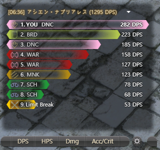 FF14 ACT CrystalStyleMeter